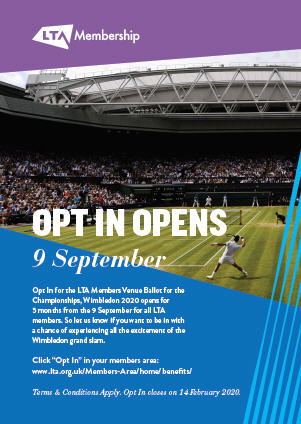 Opt In Poster