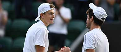 Jack Draper at Wimbledon