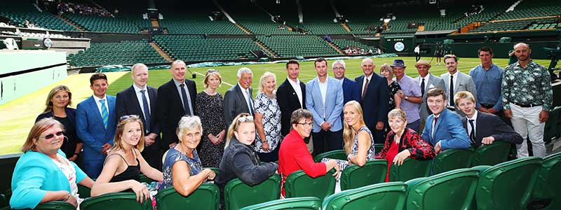 British Tennis Awards ceremony