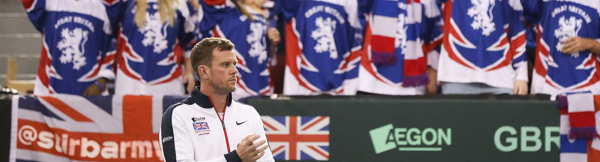 Aegon GB Davis Cup Team to face France on clay