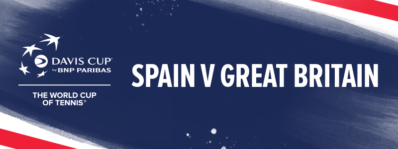 Davis Cup tickets for Great Britain v Spain