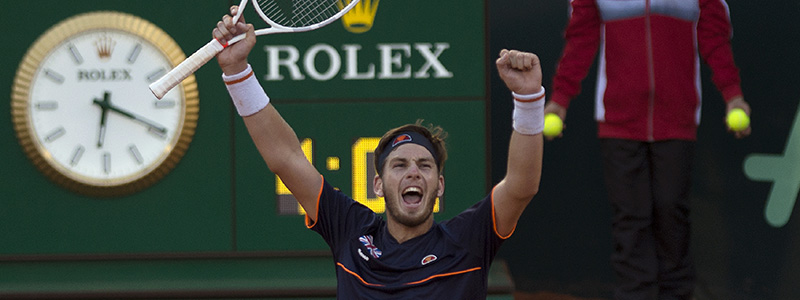 Cam Norrie roars after winning in Marbella