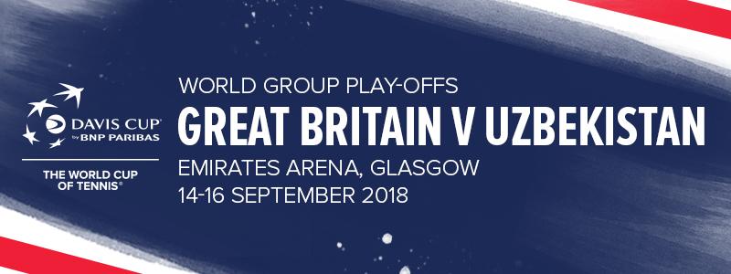 Davis Cup World Group Play-Offs - GB v Uzbekistan