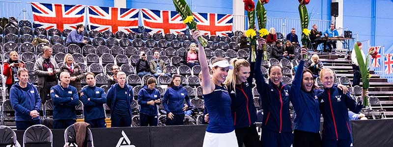 6a8d8ffb8 British Tennis Round-up  Fed Cup triumph and a maiden ATP title
