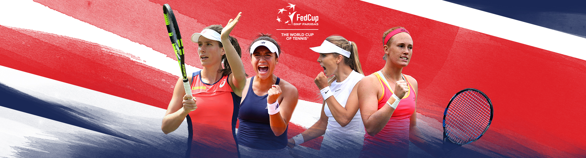 GB's Fed Cup team named for opening tie