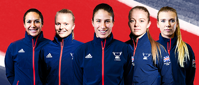 Great Britain's Fed Cup team