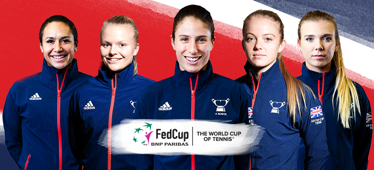 Fed Cup draw announced for tie in Bath