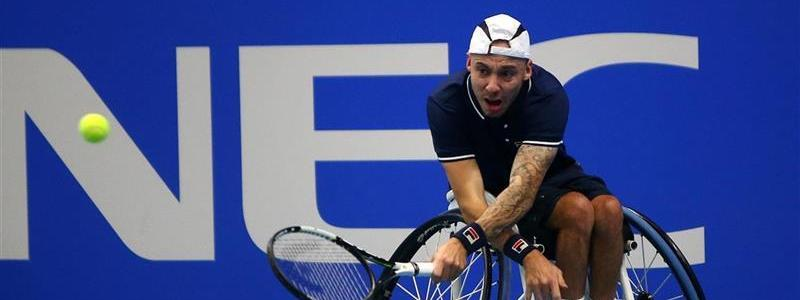 Andy Lapthorne, NEC Wheelchair Tennis Masters