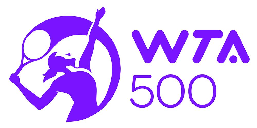 WTA 500 Logo