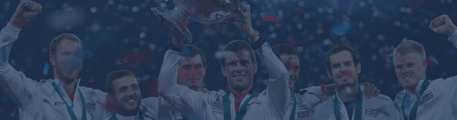 Davis Cup 2015 Trophy Celebrations