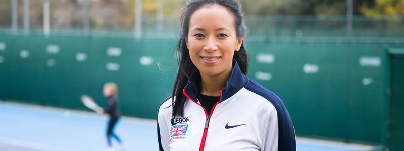 Anne Keothavong appointed the new Senior National Women's Coach