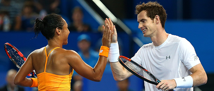 Hopman Cup Live Andy Murray And Heather Watson Lta