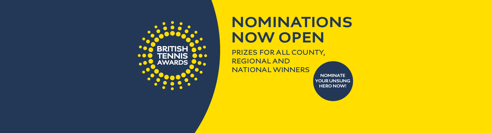 British Tennis Awards: Nominate your unsung hero!
