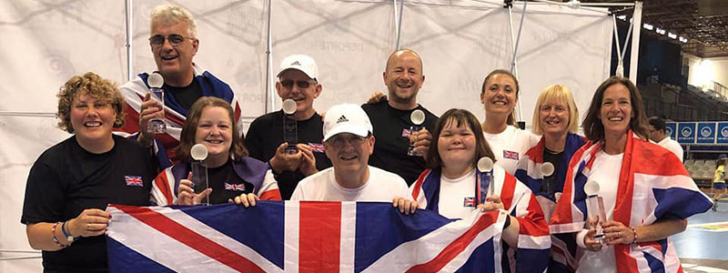 2019 Great British Visually Impaired Tennis Team