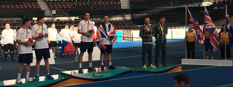 2019 INAS Games medal ceremony