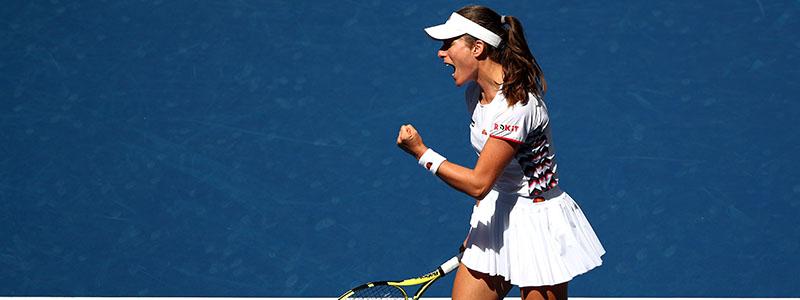 Johanna Konta storms into the Monterrey quarter-finals