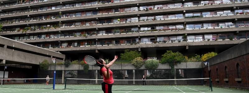 Barbican Estate Courts re-open
