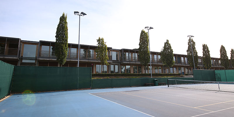 Courts at the National Tennis Centre