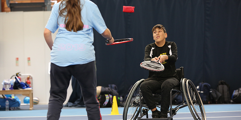 LTA Open Court - Wheelchair Tennis