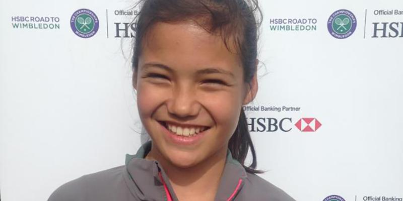 Emma Raducanu Road to Wimbledon 2015