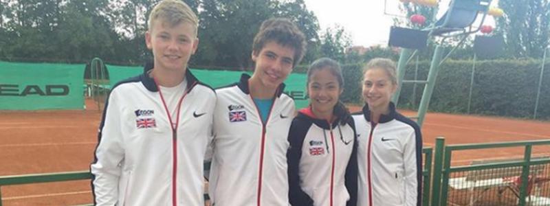LTA GB team at the European Championships 2016