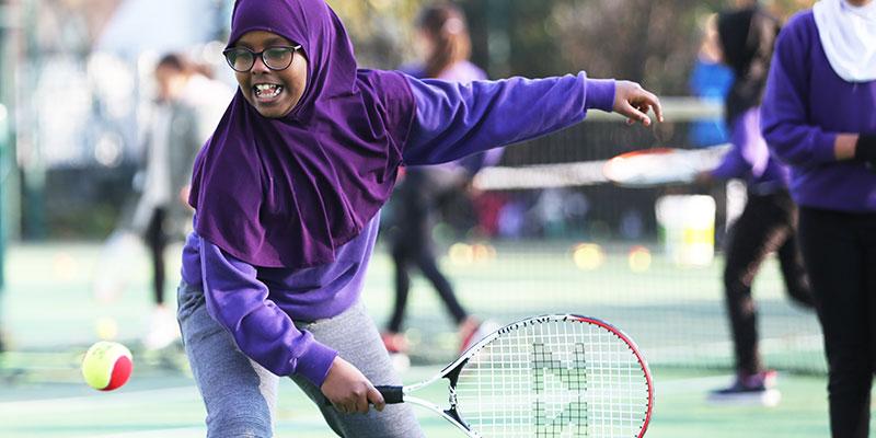Schools tennis