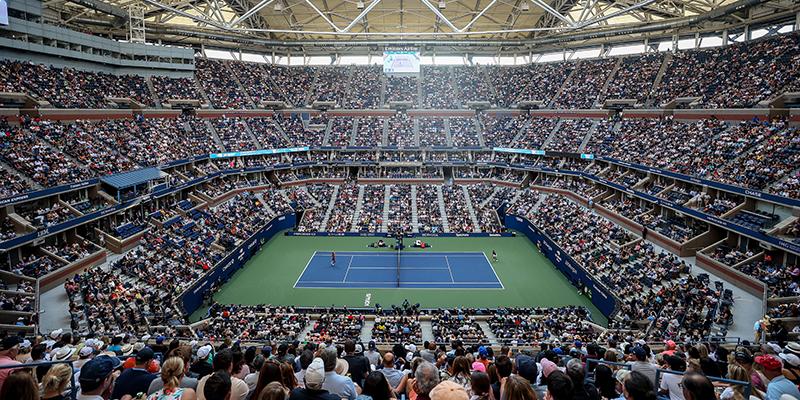 Arthur Ashe Stadium - the setting for the 2021 US Open Women's Singles Final