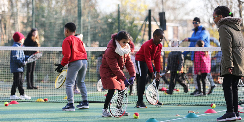 Tennis session