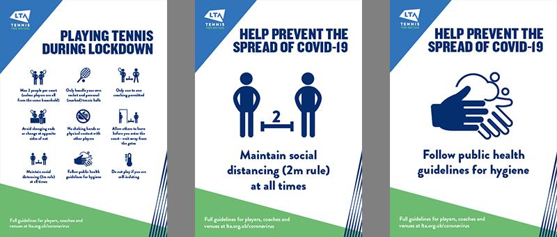 COVID-19 Venue Posters