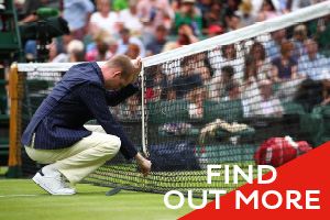 Officiating at The Championships, Wimbledon