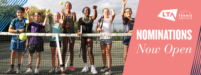 Nominations now open for the LTA Tennis Awards