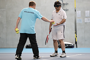 The Tennis Foundation offers a variety of volunteer opportunities.