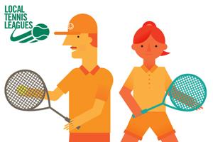 Local tennis leagues promotion