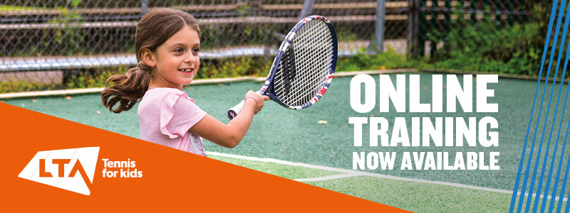 Tennis For Kids banner