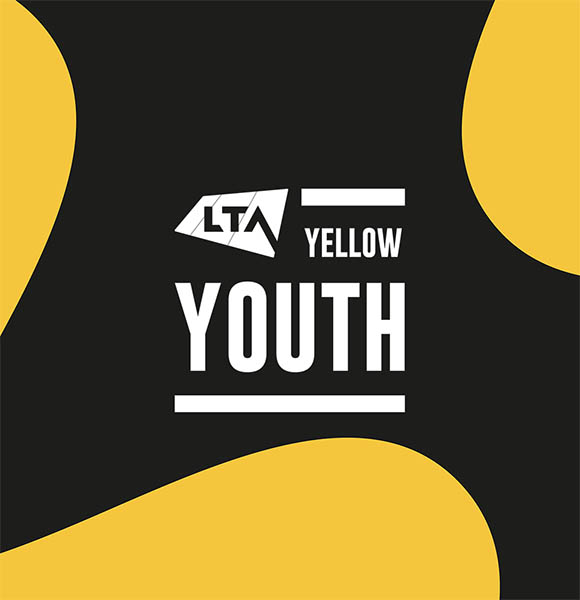 LTA Youth Yellow Logo