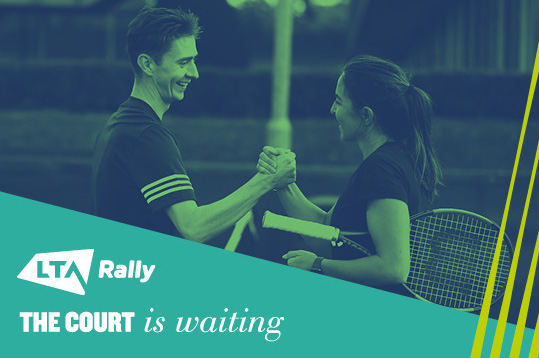 Get on court with LTA Rally