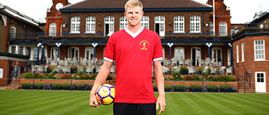 Kyle Edmund at The Queen's Club