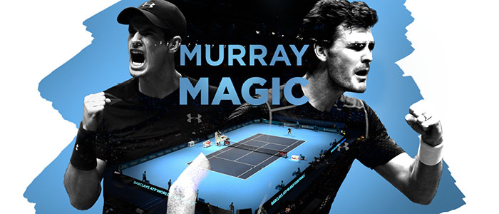 Andy and Jamie Murray end the year as World No.1