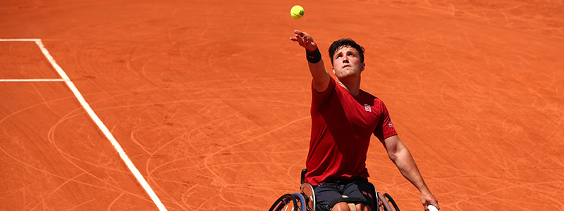Gordon Reid at the French Open