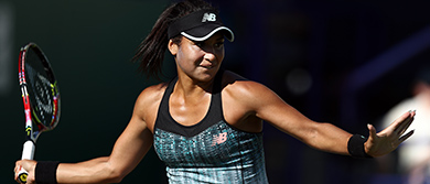 Heather Watson at the 2018 Nature Valley International