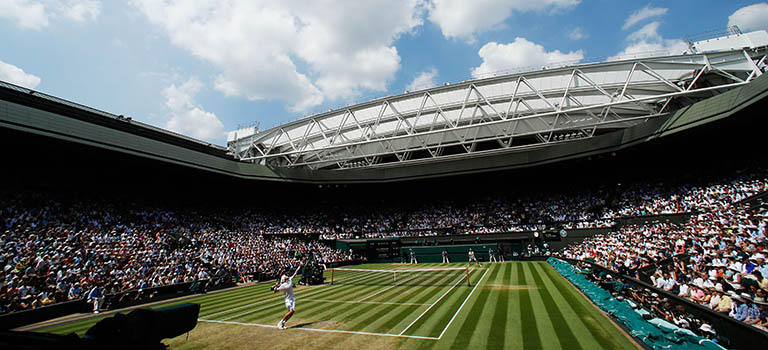 Join today to win Wimbledon Centre Court tickets