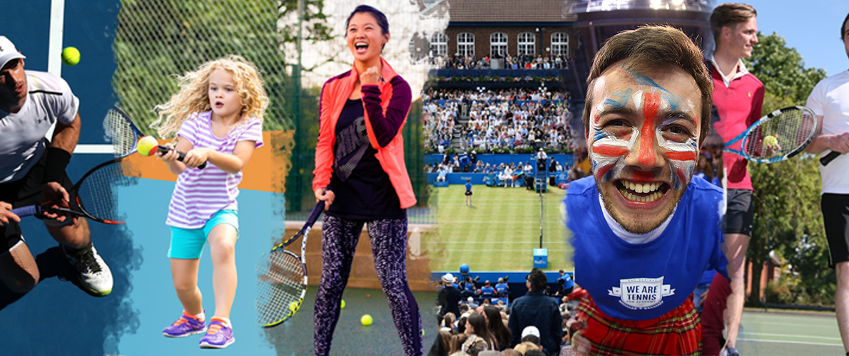 Sign up to British Tennis