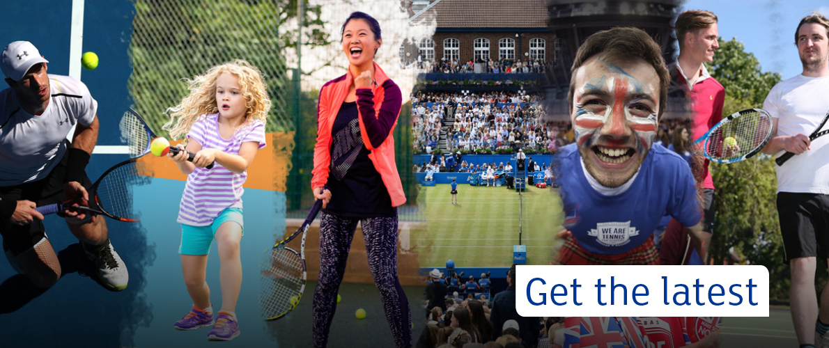 Sign up to British Tennis
