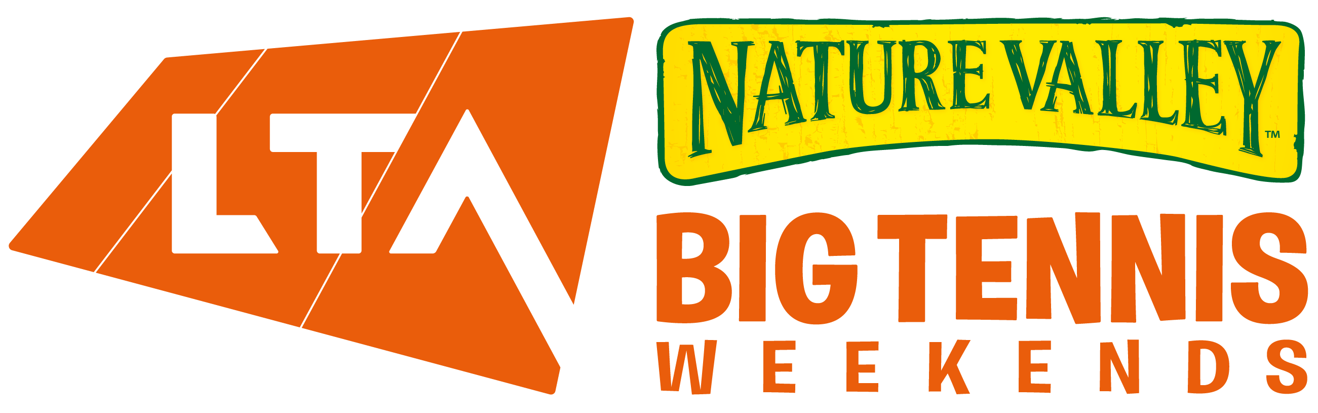 Nature Valley Big Tennis Weekends logo