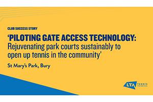 LTA Case Study - St Mary's Park